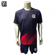 maglia da calcio a stampa digitale full over sublimation